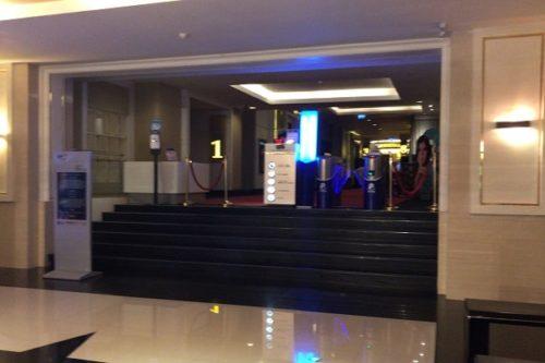 ターミナル21の映画館入り口